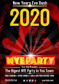New Years Eve Bash Poster