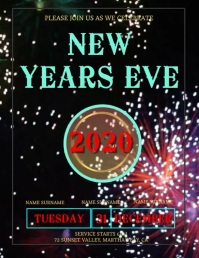 New Years Eve Celebration Template