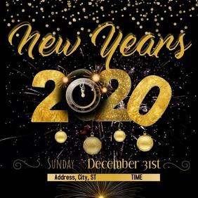 New Years Eve Сообщение Instagram template
