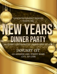 New Years Eve Event Flyer Template