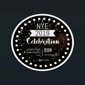 New Years Eve NYE template