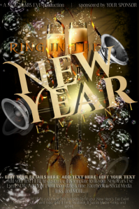 New Years Eve Party Event Countdown Year Music Club Holiday