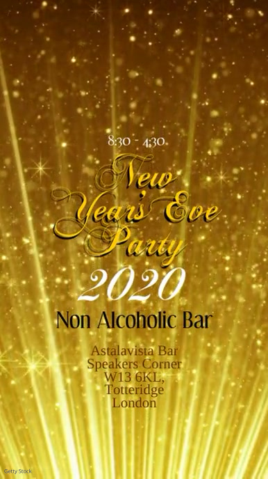 New Years Eve Party