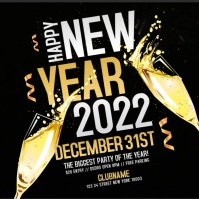 New Years Eve Party Flyer Template Video