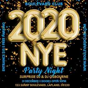 New Years Eve Party Template
