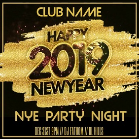 New Years Eve Party Video Template