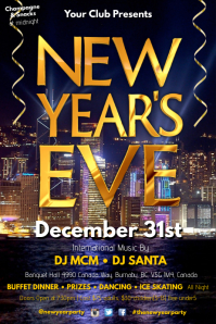 New Years Eve Poster