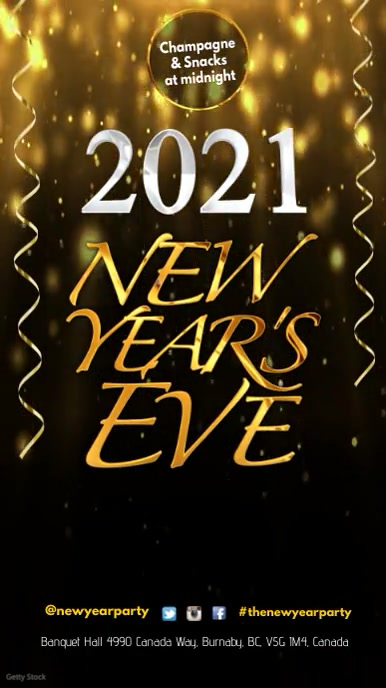 New Years Eve Prty