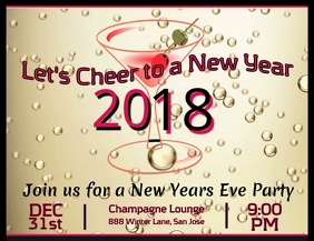 New Years Eve Video Flyer
