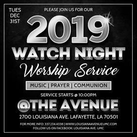 NEW YEARS EVE WATCH NIGHT CHURCH SERVICE