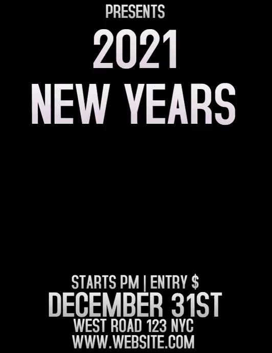 NEW YEARS EVENT AD DIGITAL