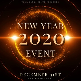 NEW YEARS EVENT Design TEMPLATE