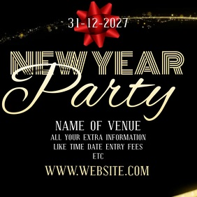 NEW YEARS EVENT TEMPLATE SOCIAL MEDIA