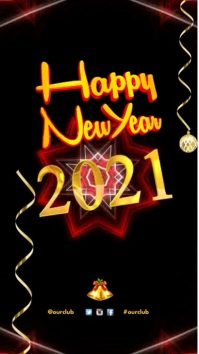 180 customizable design templates for happy new year postermywall new years greeting video m4hsunfo
