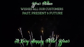 New Years Greeting Video Template