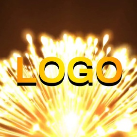 NEW YEARS LOGO LOGOS VIDEO ad template