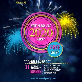 new years party 2020video