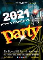 New Years Party Poster