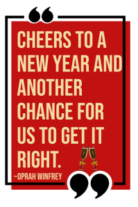 New Years Quote Poster