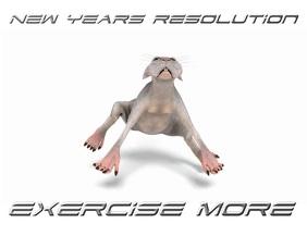 New Years Resolution 传单(美国信函) template