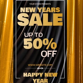 NEW YEARS SALE AD SOCIAL MEDIA TEMPLATE Logo