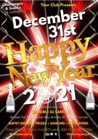 New Years Video Invitation