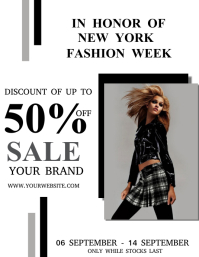 New York Fashion Week Discount Sale
