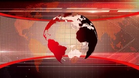 news background Presentation (16:9) template
