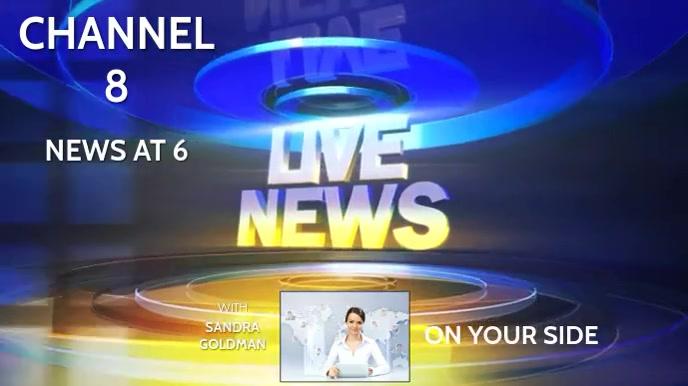 NEWS Digitale display (16:9) template