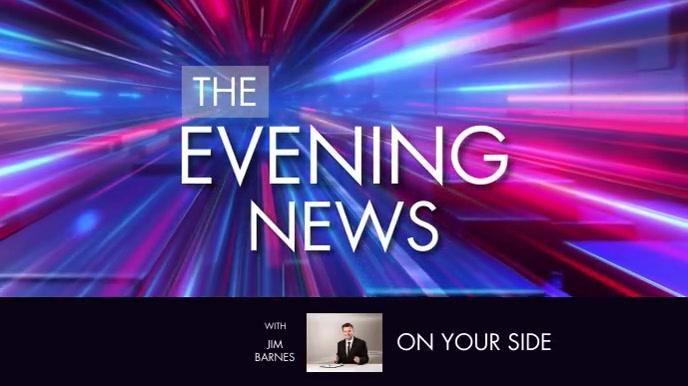 NEWS Digitalt display (16:9) template
