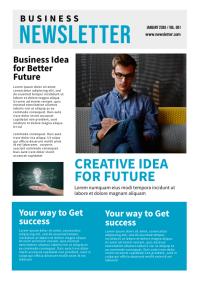 Newsletter Template A4