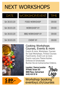Next Upcoming Workshops Courses or Events Cooking Fitness
