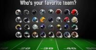 NFL Facebook Shared Image template