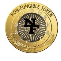NFT Token Design 徽标 template