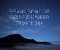 NIGHT AND STARS QUOTE TEMPLATE Medium Reghoek