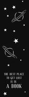 night background space bookmark template desi
