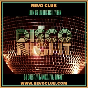 Night Club Disco Party night Video Template