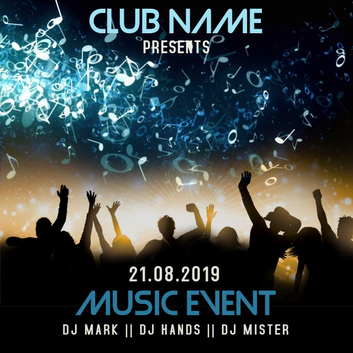 Night Club Event Concert Video Template
