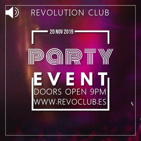 Night Club Event Party Video Template