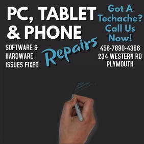 Computer and Phone Repair Service Video Template