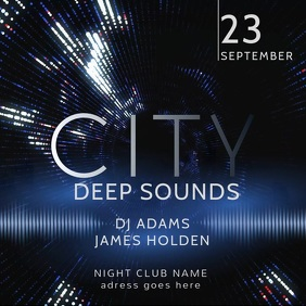 Night Club Event Video Template
