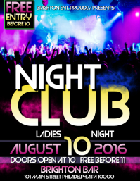6 280 Customizable Design Templates For Night Club Postermywall
