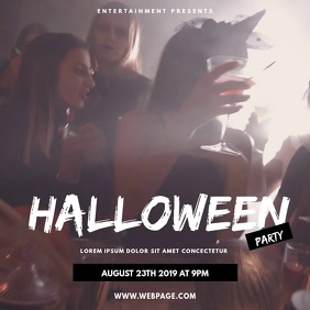 Night Club halloween party video instagram