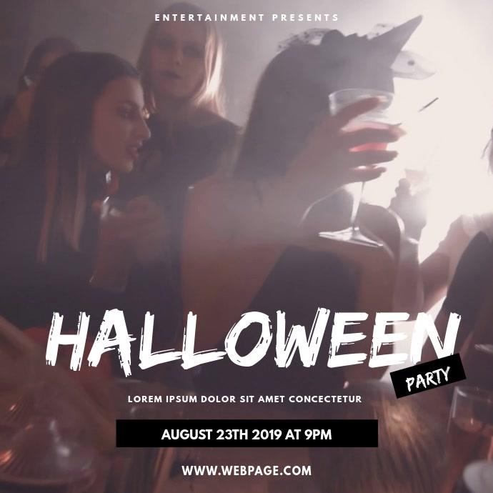 Night Club halloween party video instagram