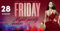 NIGHT CLUB PARTY Facebook Ad template