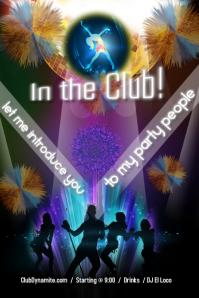 Night club party / DJ party/ latin night party