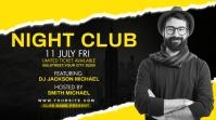 night club party flyer Digital Display (16:9) template