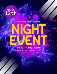 Night Event Flyer