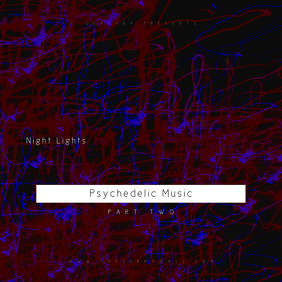 Night Lights Psychedelic Music 2 CD Cover