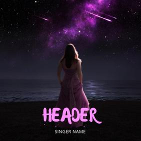 Night Music Album Cover Template